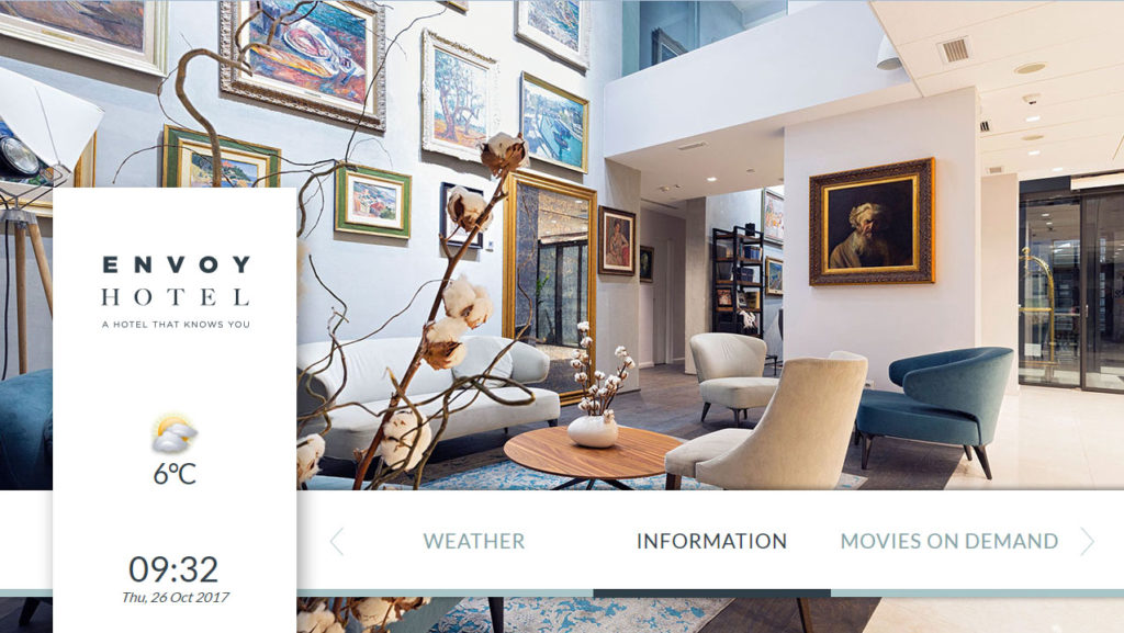 Hotel TV - Infostar - Multimedia hotel management systems